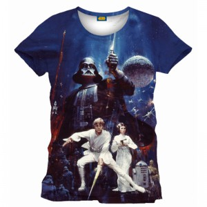 Star Wars painting t-shirt
