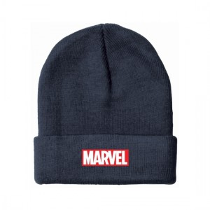 Marvel beanie hat logo