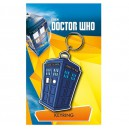 Rubber Tardis Cartoon Keychain