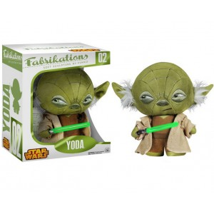 Yoda Fabrikations plush 15cm by Funko