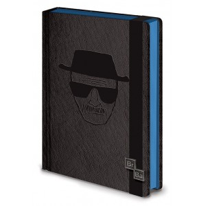 Carnet de notes Heisenberg A5 Premium Breaking Bad