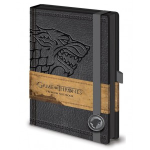 Carnet de notes Stark A5 Premium Game Of Thrones