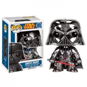 Figurine Pop! Vinyl Dark Vador Chrome Exclu 9cm