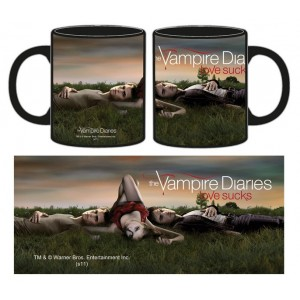Mug The Vampire Diaries : Love sucks