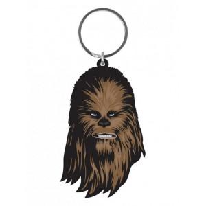 Porte-clés Chewbacca 6cm en caoutchouc
