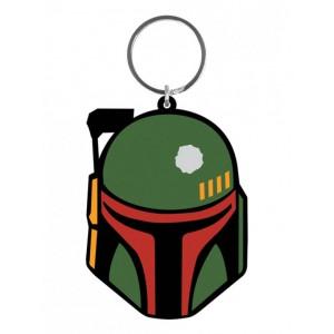 Boba Fett rubber keychain 6cm