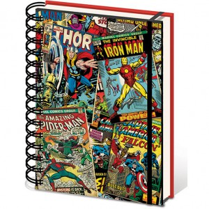 Notebook A5 Lenticular - Marvel Comics