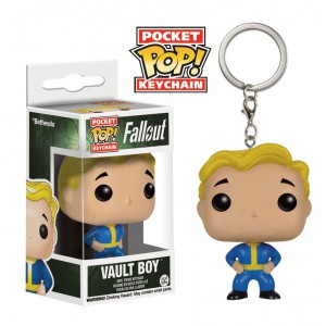 Rubber Keychain Vault Boy Approves Fallout 4