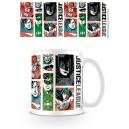 Justice League 52 style mug - DC Comics