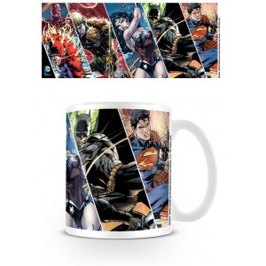 Justice League mug Heroes of DC Comics