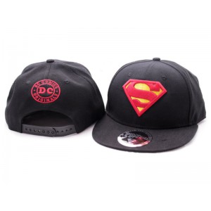 Adjustable Superman Cap Black