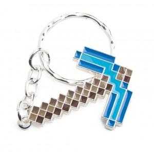Porte-clé pioche diamant de Minecraft