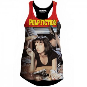 Débardeur Pulp Fiction femme Mia Wallace