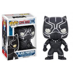 POP! Vinyl Bobble Head Black Panther 10 cm