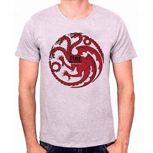 T-shirt Targaryen emblème gris