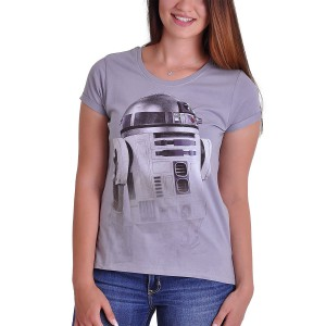 R2-D2 fog woman t-shirt