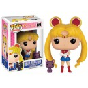 Figurine Sailor Moon et Luna - Pop! Vinyl