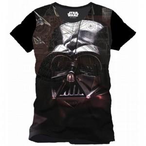 Darth Vader Attack Plane T-Shirt - Rogue One