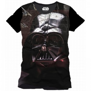 T-shirt Dark Vador Attack Plane - Rogue One