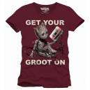 T-shirt Get Your Groot On - Guardians of the Galaxy 2
