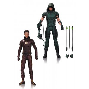 Action Figures 2-Pack Arrow and The Flash 17cm DC TV