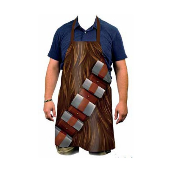Tablier de cuisine chewbacca for Tablier de cuisine star wars