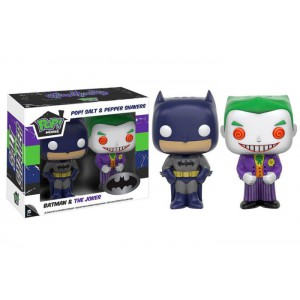 Batman & Joker Salt & pepper shakes Pop! Home