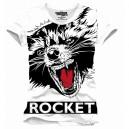 Rocket Raccoon T-shirt Big Face