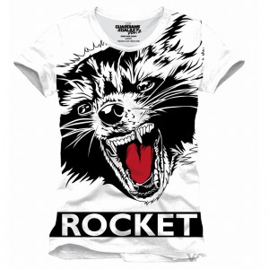 T-shirt Rocket Raccoon Big Face