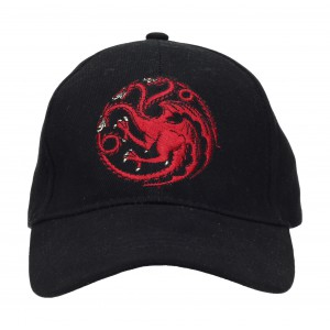 Black baseball cap Targaryen