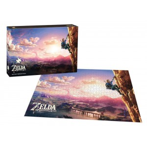 Puzzle Zelda Breath of the Wild 1000 pièces