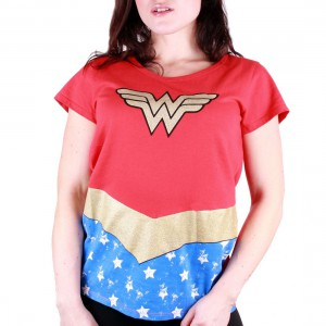 T-shirt femme Wonder Woman Costume