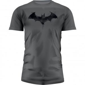 T-Shirt Batman Logo Graphics Gris