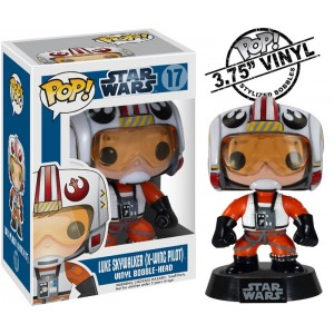 Figurine Luke Skywalker de la collection Pop! Vinyle