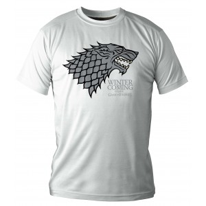 T-Shirt Homme Stark : Winter Is Coming
