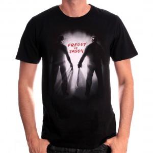T-shirt Freddy vs Jason - films d'horreur
