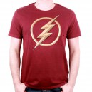 The Flash T-Shirt Logo 3D red