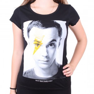 Bolt Woman T-shirt Sheldon Cooper