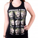 Expressions of Groot Women Tank Top - Guardians of the Galaxy 2