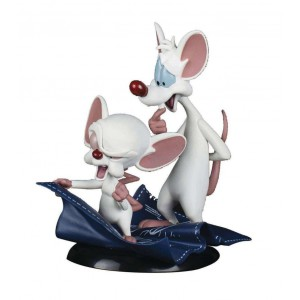 Figurine Pinky and the Brain 10cm - Animaniacs QFigToons