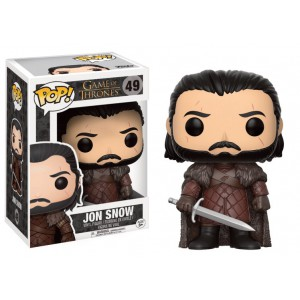 Figurine Pop Jon Snow King in the North - Game Of Thrones saison 8