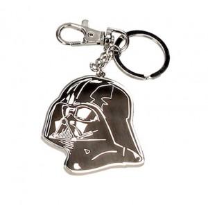 Darth Vader mask metal keychain