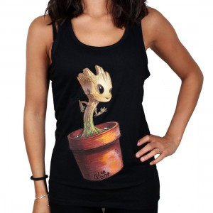 Mini Groot Women Tank Top