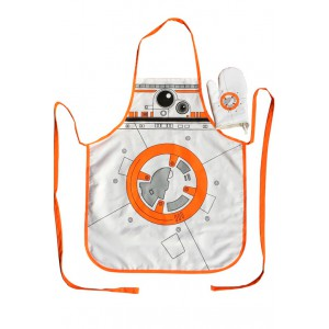 BB-8 kitchen set : apron and oven mitt