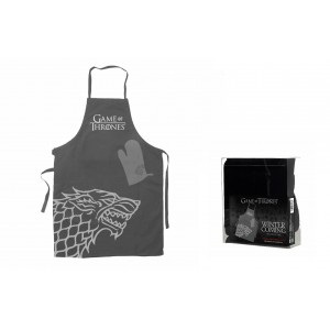 Set cuisine Stark :  tablier + gant