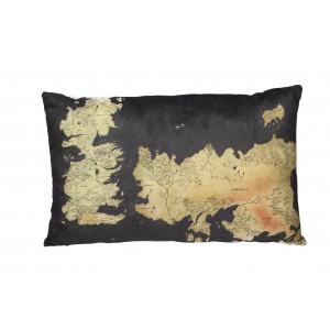 Coussin carte Westeros de Game Of Thrones 55cm