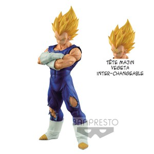 Figurine Grandista Vegeta Super Saiyan Resolution Of Soldiers 26cm