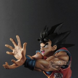 Figurine Son Goku Super Kamehameha Premium Color 20cm