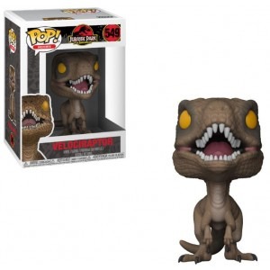 Figurine Pop! Velociraptor 9cm Jurassic Park