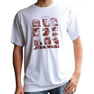Faces galery T-shirt from Star Wars